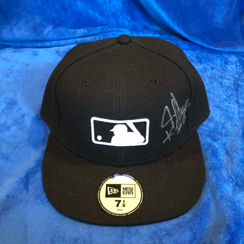 Photo of UMPS CARE AUCTION: Jeff Kellogg Signed Base Cap, Size 7 1/8