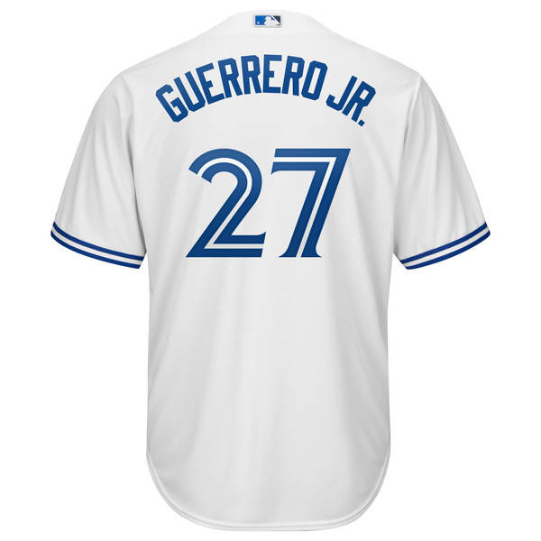 Toronto Blue Jays Cool Base Replica Guerrero Jr. Home Jersey by Majestic