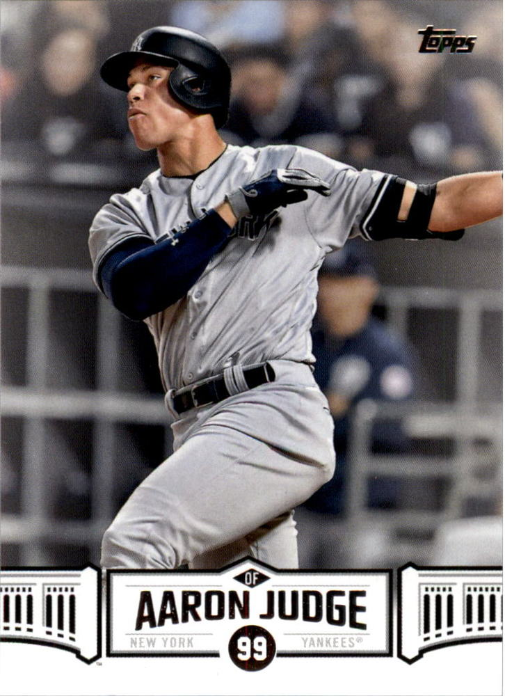 2018 Topps Aaron Judge Highlights #AJ12 Aaron Judge