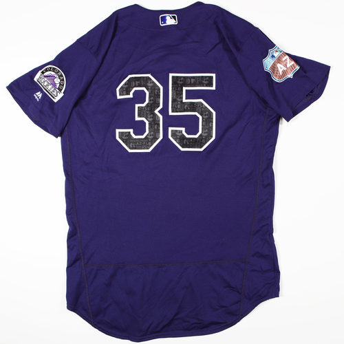 Photo of 2016 Spring Training - Spring Training Game Used Jersey - Chad Bettis (Rockies)- Size- 48