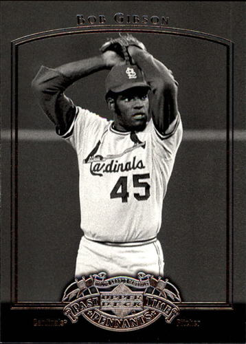 Photo of 2005 UD Past Time Pennants #7 Bob Gibson