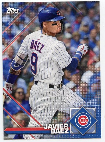 Photo of 2020 Topps Opening Day Sticker Collection Preview #SP2 Javier Baez