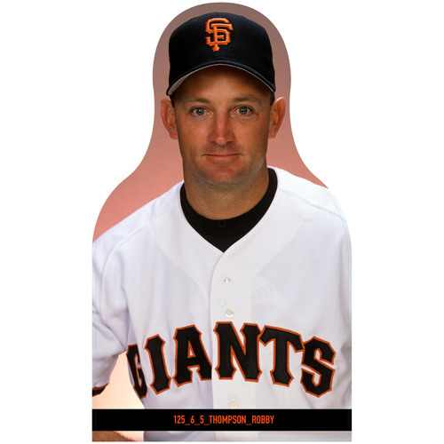 Photo of Giants Community Fund: Giants Robby Thompson Cutout