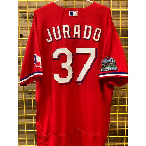 Photo of Ariel Jurado Team-Issued Red Jersey