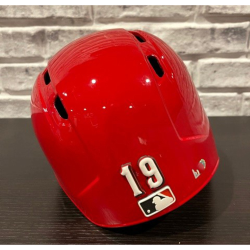 Photo of Team-Issued Helmet -- Right Ear Flap -- Size 7 3/8