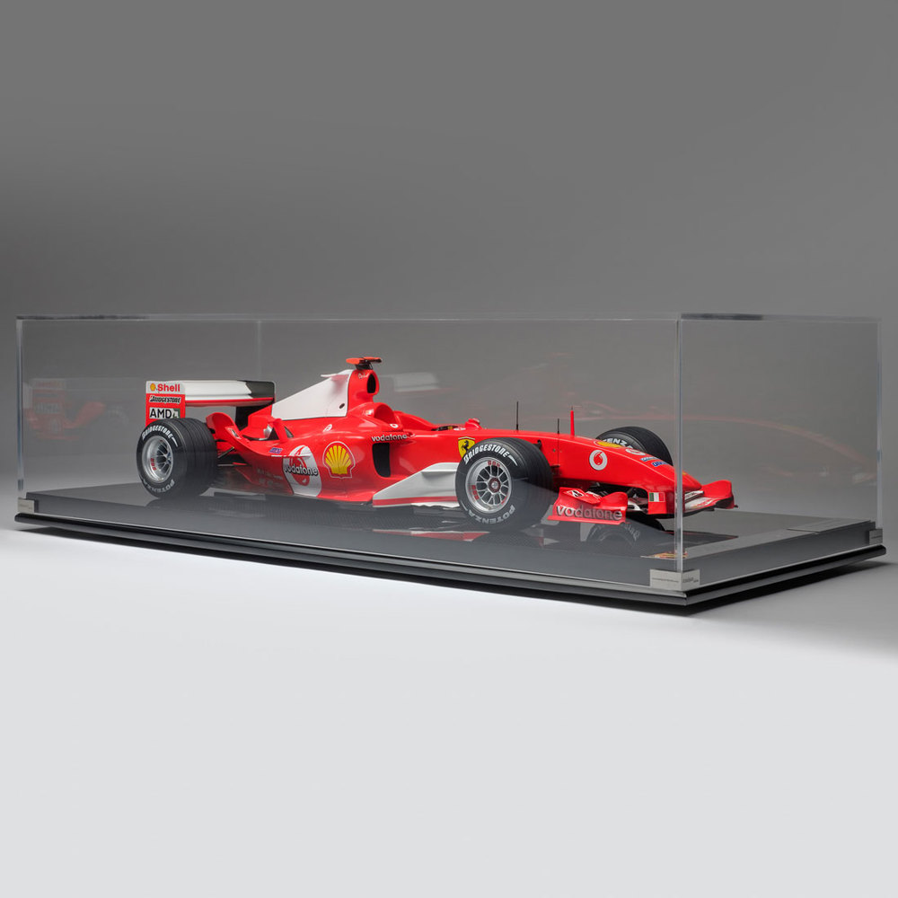 Michael Schumacher Ferrari 2004 F2004 1:8 Scale Model F1 Car