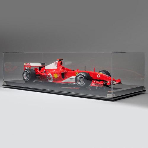 Photo of Michael Schumacher Ferrari 2004 F2004 1:8 Scale Model F1 Car