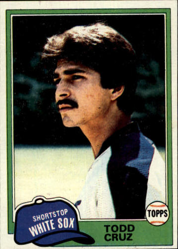 Photo of 1981 Topps #571 Todd Cruz