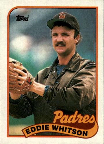 Photo of 1989 Topps #516 Eddie Whitson