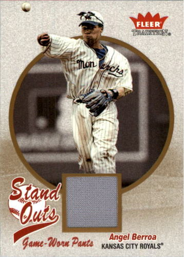 Photo of 2004 Fleer Tradition Stand Outs Game Used #AB Angel Berroa Pants