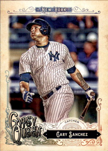 Photo of 2017 Topps Gypsy Queen #77 Gary Sanchez