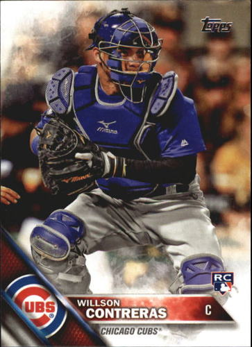 Photo of 2016 Topps Update #US266 Willson Contreras Rookie Card Cubs post-season