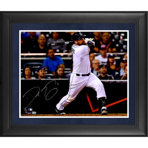 Derek Norris San Diego Padres Deluxe Framed Autographed 16
