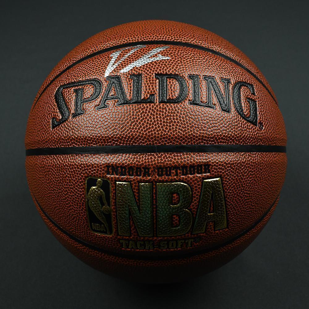Dennis Smith Jr - Dallas Mavericks - 2017 NBA Draft - Autographed Basketball
