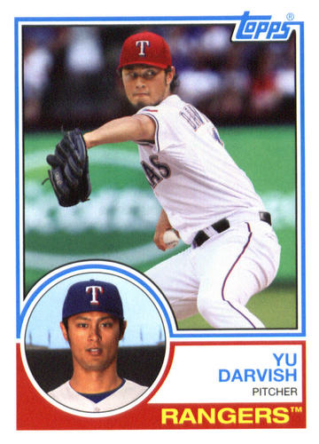Photo of 2015 Topps Archives #203 Yu Darvish