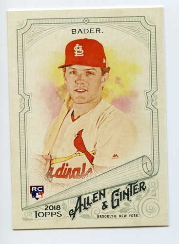 Photo of 2018 Topps Allen and Ginter #319 Harrison Bader SP RC