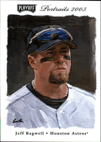 Photo of 2003 Playoff Portraits #12 Jeff Bagwell