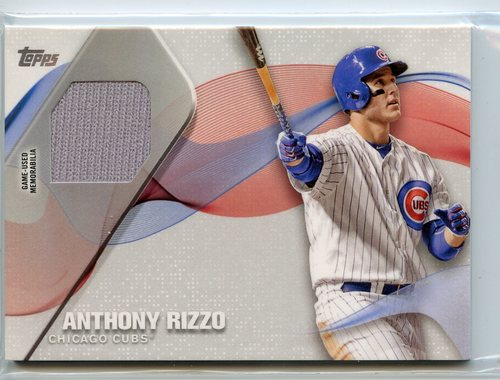 Photo of 2017 Topps Major League Materials #MLMARI Anthony Rizzo S2