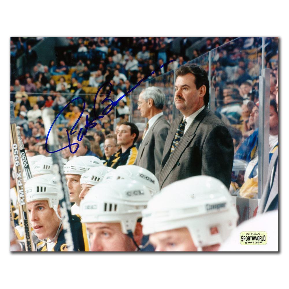 Pat Burns Boston Bruins HEAD COACH Autographed 8x10
