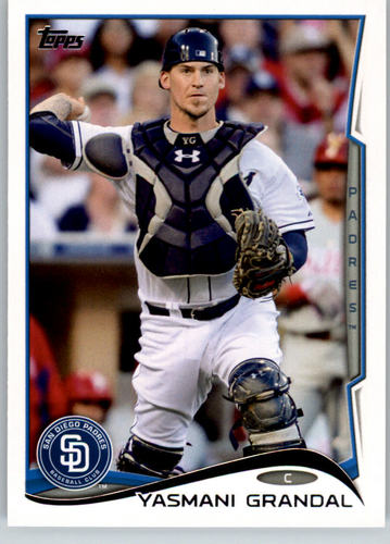 Photo of 2014 Topps #67 Yasmani Grandal