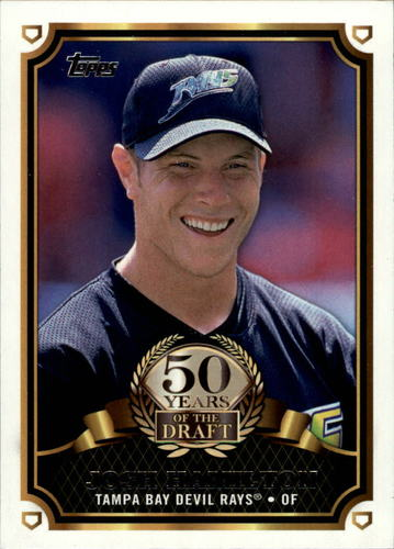 Photo of 2014 Topps 50 Years of the Draft #50YD6 Josh Hamilton