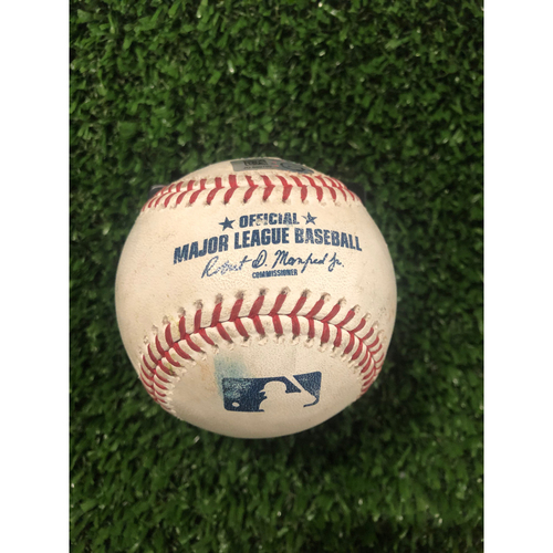 Photo of Matt Carpenter Game Used Hit Double Baseball - May 14, 2019