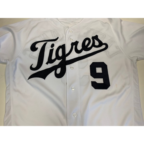 Photo of Game-Used Fiesta Tigres Jersey: Nicholas Castellanos