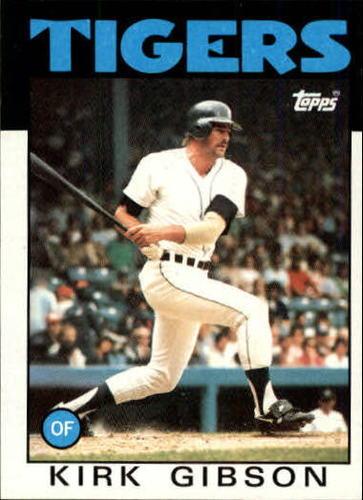 Photo of 1986 Topps #295 Kirk Gibson