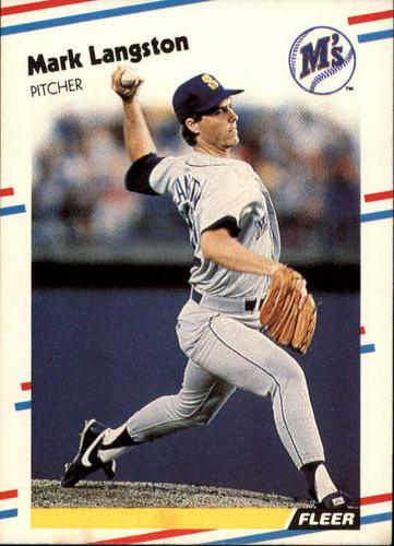 Photo of 1988 Fleer #377 Mark Langston