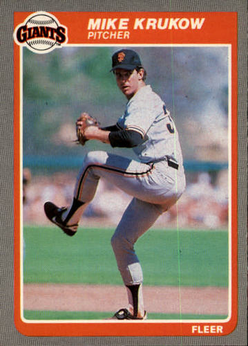 Photo of 1985 Fleer #609 Mike Krukow