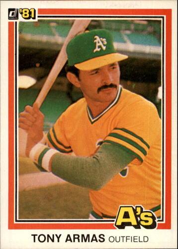 Photo of 1981 Donruss #239 Tony Armas