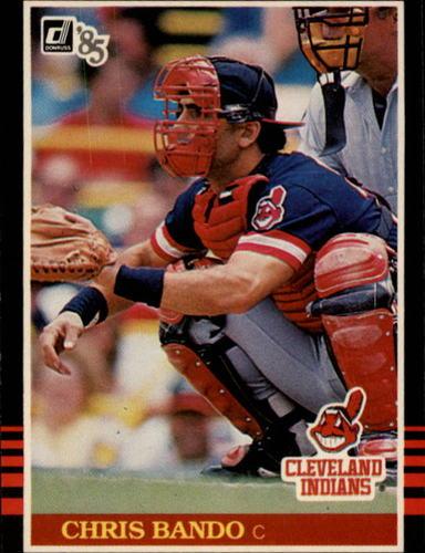 Photo of 1985 Donruss #520 Chris Bando