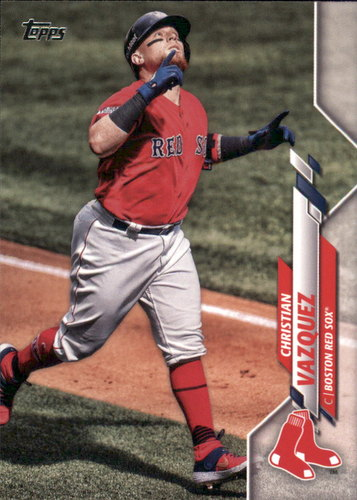 Photo of 2020 Topps #63 Christian Vazquez