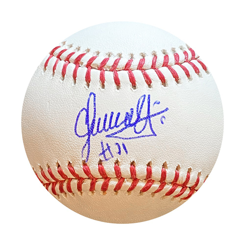 Photo of Autographed Baseball: Carlos Hernandez