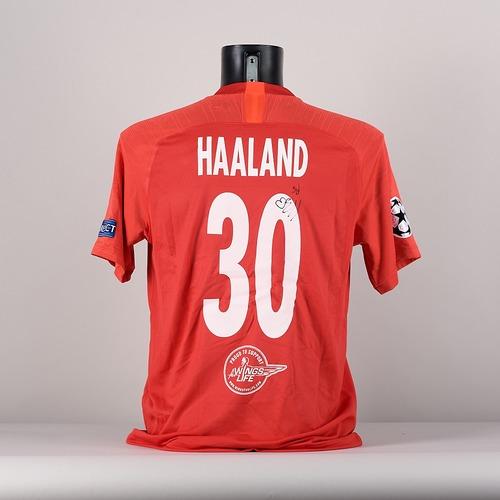 Photo of A signed  Erling Braut HŒland's  FC Salzburg jersey