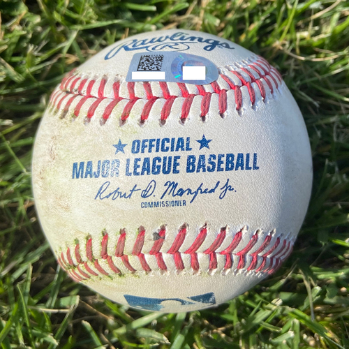 Photo of Cardinals Authentics: Game Used Baseball Pitched by Austin Gomber to Christian Yelich *Single*