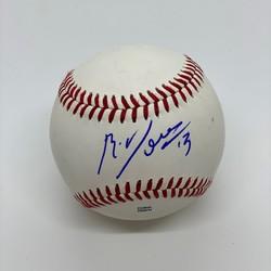 Photo of Rafael Devers Signed Baseball