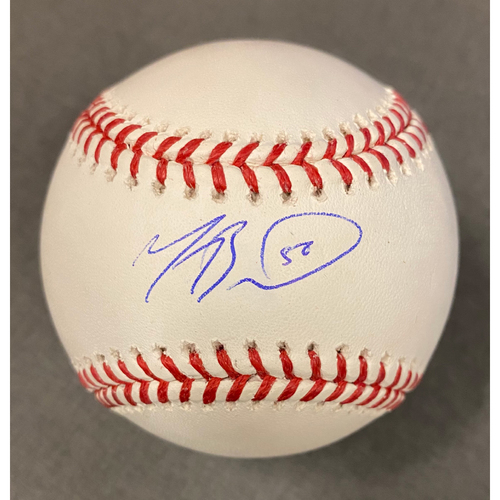 Photo of Mookie Betts Authentic Autographed Baseball