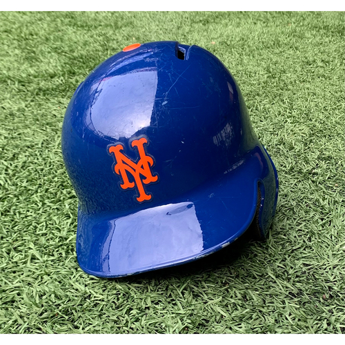 Photo of Jeurys Familia #27 - Game Used Batting Helmet with 2016 Postseason Decal - Mets Clinch Wild Card Berth, Familia 1 IP, Earns 51st Save - Mets vs. Phillies - 10/1/16