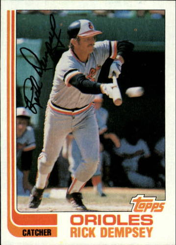Photo of 1982 Topps #489 Rick Dempsey
