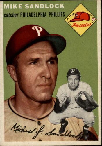 Photo of 1954 Topps #104 Mike Sandlock