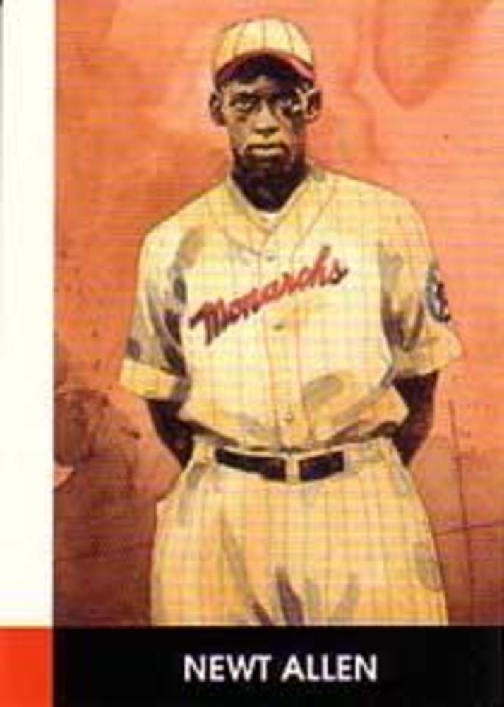 1990 Negro League Stars #30 Newt Allen