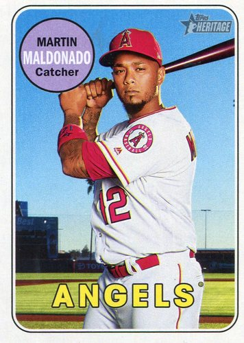 Photo of 2018 Topps Heritage #343 Martin Maldonado