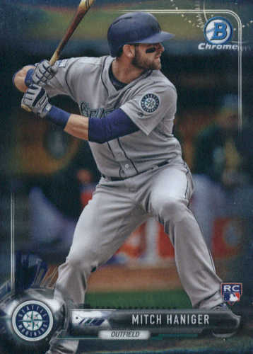 Photo of 2017 Bowman Chrome #42 Mitch Haniger RC