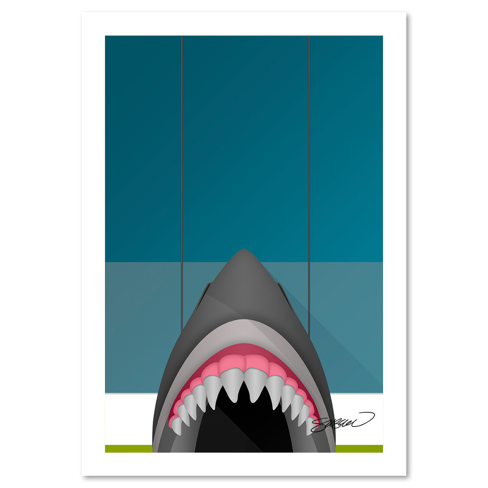 Minimalist SAP Center Art Print by S. Preston