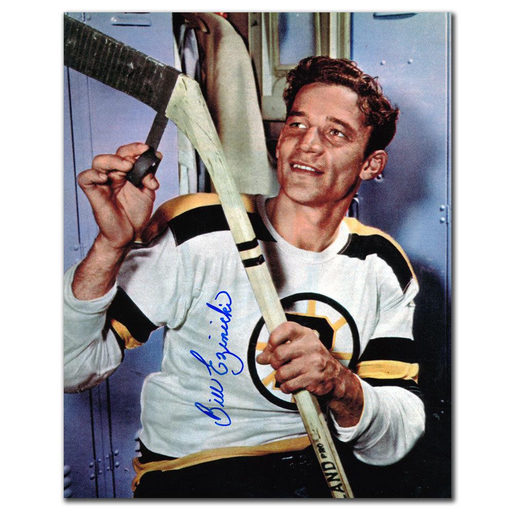 Bill Ezinicki Boston Bruins Autographed 8x10