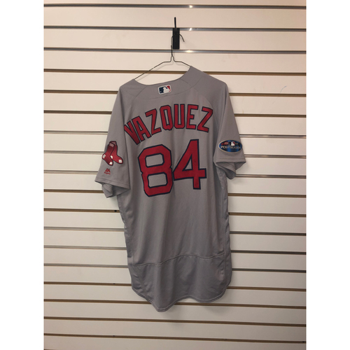 Photo of Ramon Vazquez Team Issued 2018 Postseason Road Jersey