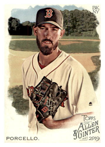 Photo of 2019 Topps Allen and Ginter #369 Rick Porcello SP