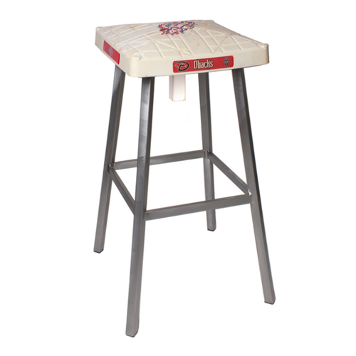 Photo of Tokens & Icons Arizona Diamondbacks Game Used Base Stool