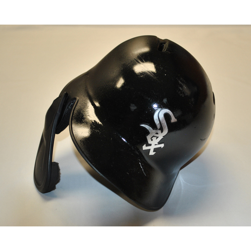 "Photo of Ryan ""GoGo"" Goins Chicago White Sox Game-Used 2019 Players' Weekend Helmet"